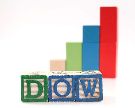 dow: Wooden Blocks Spelling Dow