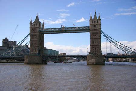 steelwork: Tower Bridge in London, UK