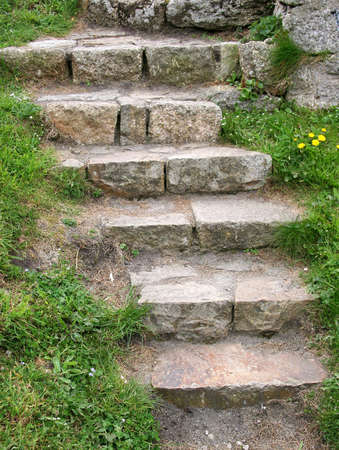 stone stairs photo