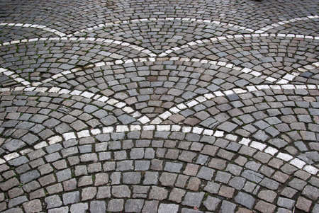 Cobble stone street in Brugge