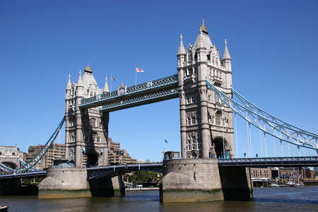 steelwork: Tower Bridge, UK