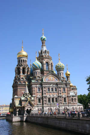 Church of the Savior on the Spilt Blood, St Petersburg photo