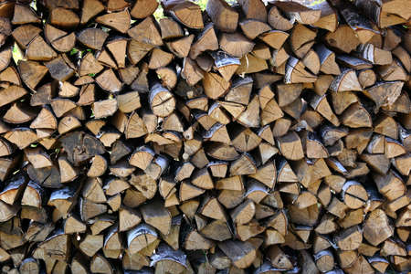 Fire wood pile Stock Photo - 446674