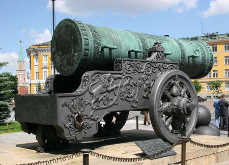 Tsar Cannon, Kremlin, Moscow, Russia 2 photo
