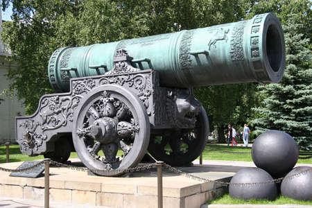 tsar: Tsar Cannon, Kremlin, Moscow, Russia 1