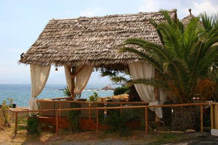 cabana: Beach cabana Stock Photo