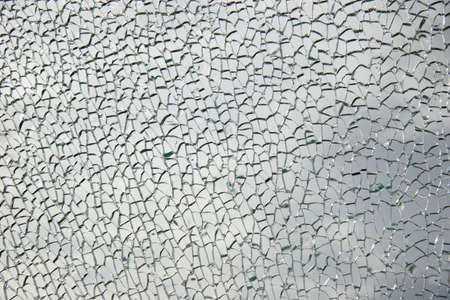 smashed: Shattered window (3) broken glass abstract background