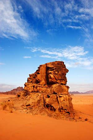 wadi: Wadi Rum Desert in Jordan