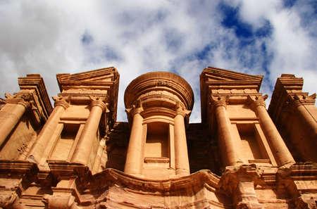 petra  jordan: Monestry at Petra, Jordan