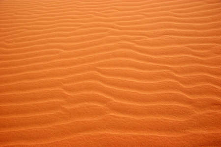 Sand patterns in the desert - Landscape   Stock Photo
