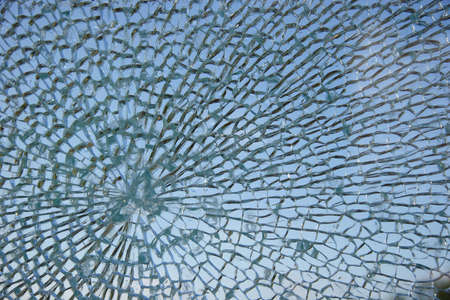 Smashed window Stock Photo - 768226