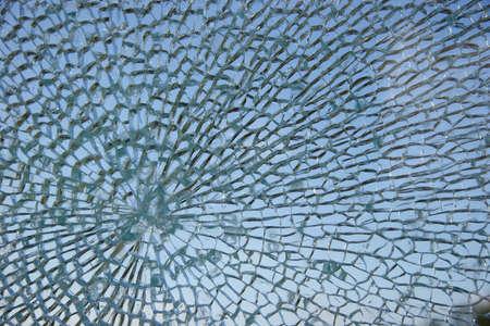 Smashed window Stock Photo - 768226