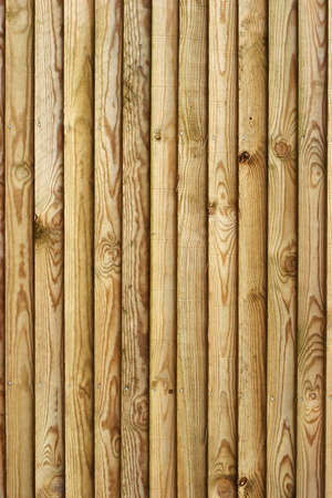 Wooden fence - portrait vertical planks Stock Photo