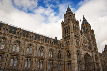 National history museum in London, UK photo