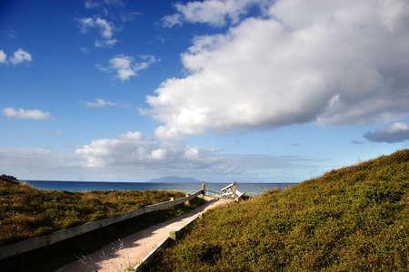 omaha: Walkway to the beach, Omaha, New Zealand