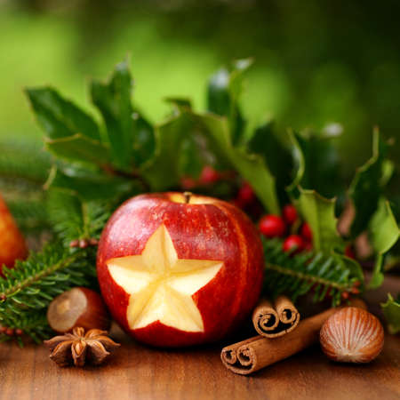 Christmas apple photo