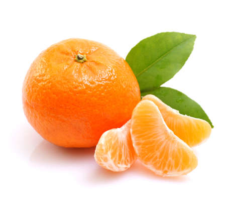 mandarin orange: Mandarin orange Stock Photo