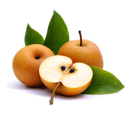 asian pear: Asian nashi pear