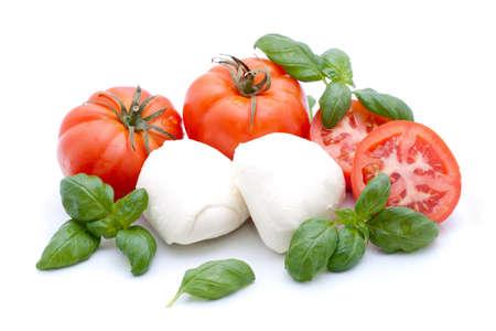 Tomato-Mozzarella Stock fotó