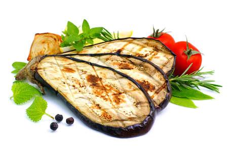 berenjena: Verduras a la parrilla