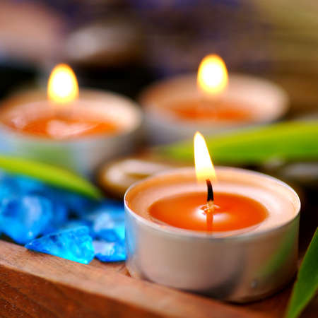 perfumed candle: perfumed candles