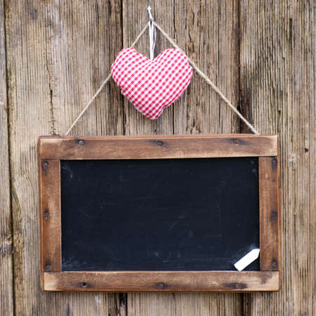 Blackboard, heart