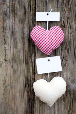 Hearts, description field Stock Photo - 12733457