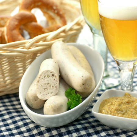 Bavarian veal sausage photo