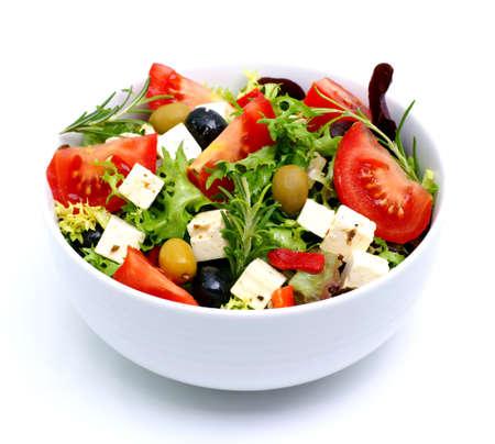 greek salad: Salad with feta