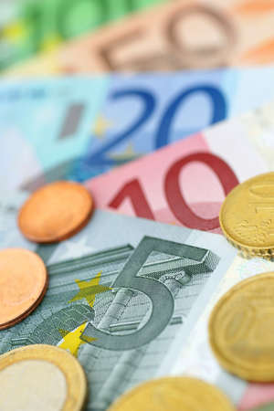 valuta: Euro Stock Photo