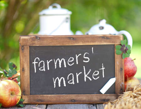 Farmers  market Stock Photo - 13080945