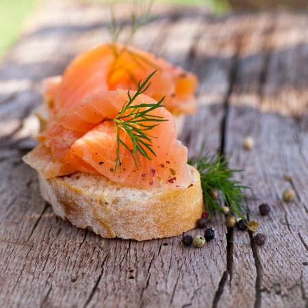 fingerfood: Fingerfood, salmon