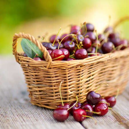Fresh cherries Stock Photo - 13703707