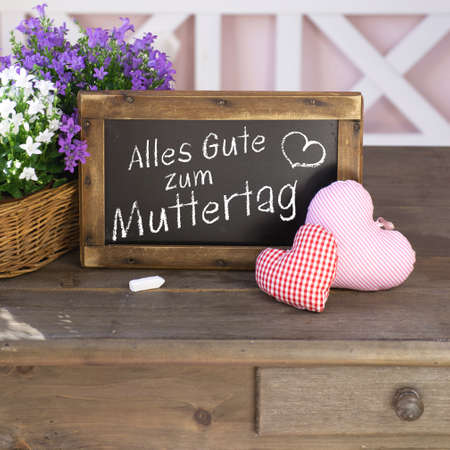 mother 's day: German Muttertag