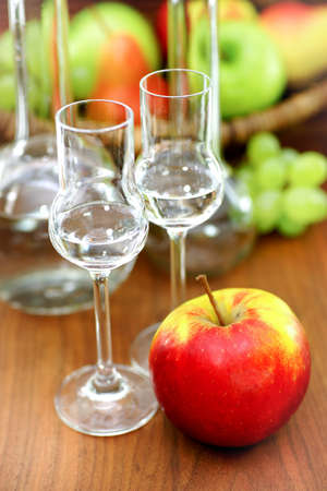 distillate: Schnapps and apple