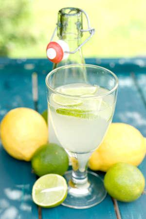 Soft drink, citrus fruit photo