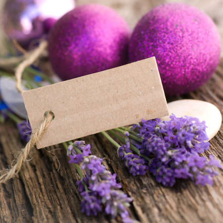 Fresh lavender, description field photo