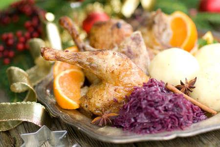 Canard, Christmas roast