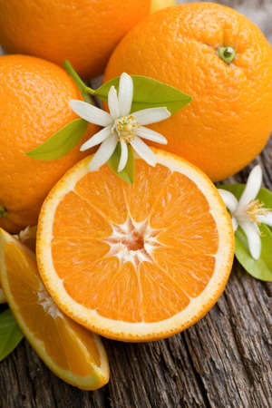 Fresh oranges Zdjęcie Seryjne
