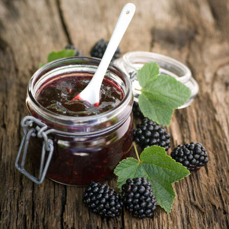 mermelada: Blackberry jam