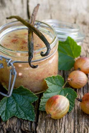 grosella: Gooseberry mermelada