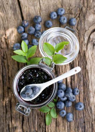Blueberry jam Zdjęcie Seryjne