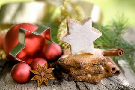 christmas time: Christmas time, cookies Stock Photo