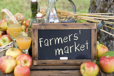 fruit market: Farmers  market Stock Photo