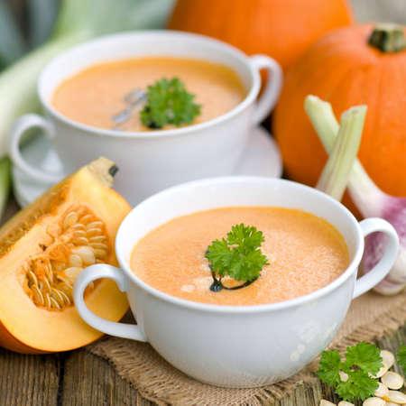pumpkin soup: Pumpkin soup