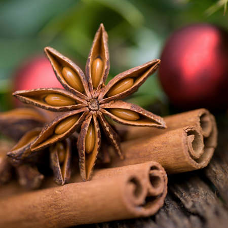 nut trees: Christmas spices