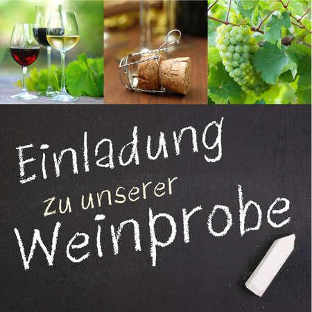 Salte wine tasting  german