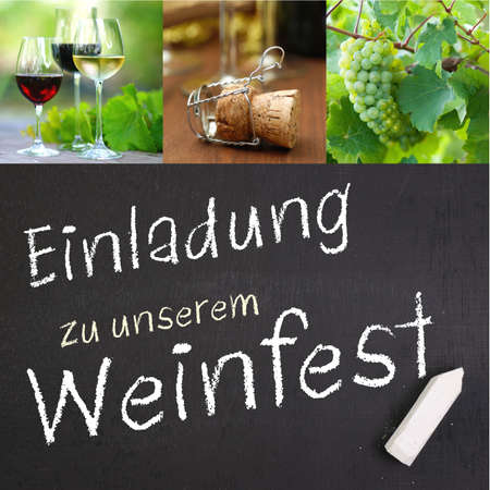 Slate  Wine festival  german  photo