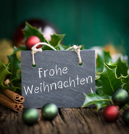 christmas time: Christmas time, slate  Merry Christmas Stock Photo