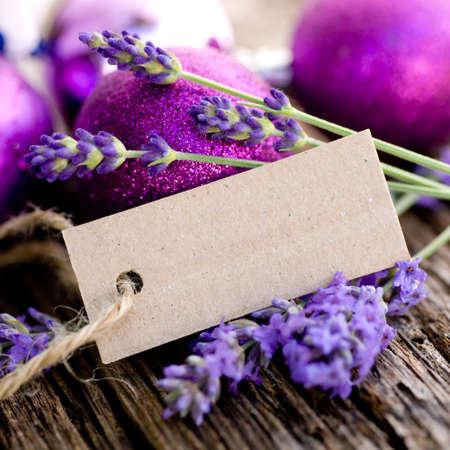Label, lavender Stock Photo - 15777245